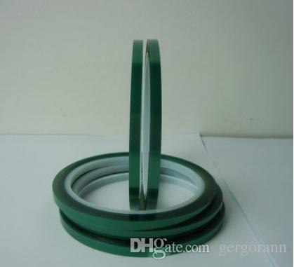 5mm*33m Heat-resistant PET High Temperature Green Masking Shielding Tape for PCB Solder Plating Insulation Protection