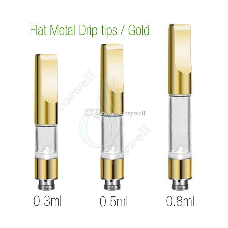 Top CE3 BUD Touch 510 Cartridges Metal plastic drip tips WAX Thick Oil Vaporizer Atomizers O Pen vapor Mini cartomizers e cigs vape Tank