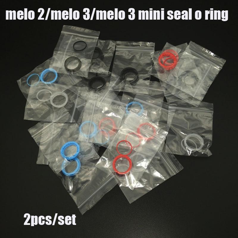 Alta qualidade de silicone de substituição selo o anel para melo 2 / melo 3 / melo 3 mini tanque de quatro cores em estoque