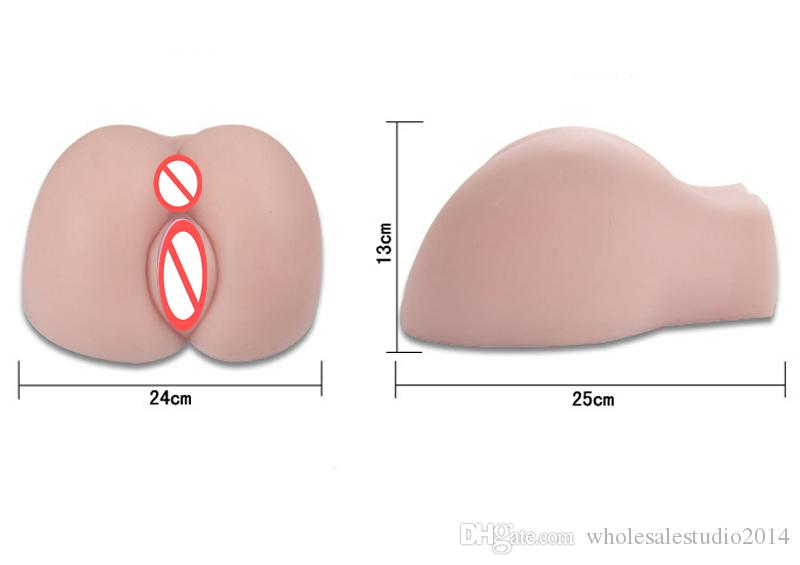 Big Ass Sex Doll for Men Masturbation,sex Toys for Male, Artificial Realistic Silicone Vagina Pussy