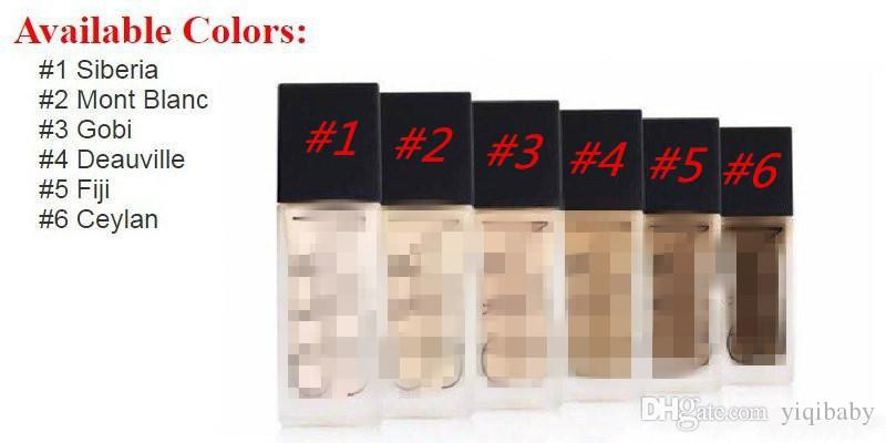 ll new Makeup Face And Body Foundation New Makeup All Day Luminous Weightless Foundation Liquid!30ml DHL