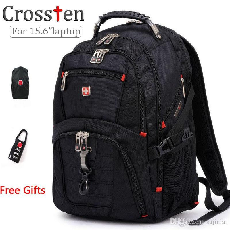 Wholesale- Top Quality Swiss Multifunctional Laptop Bag Backpack ...