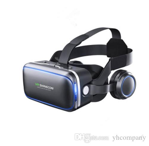 36cadfc88af6 Vritual Reality Shinecon 6.0 Bluetooth Headset VR Glasses Helmet 3D ...