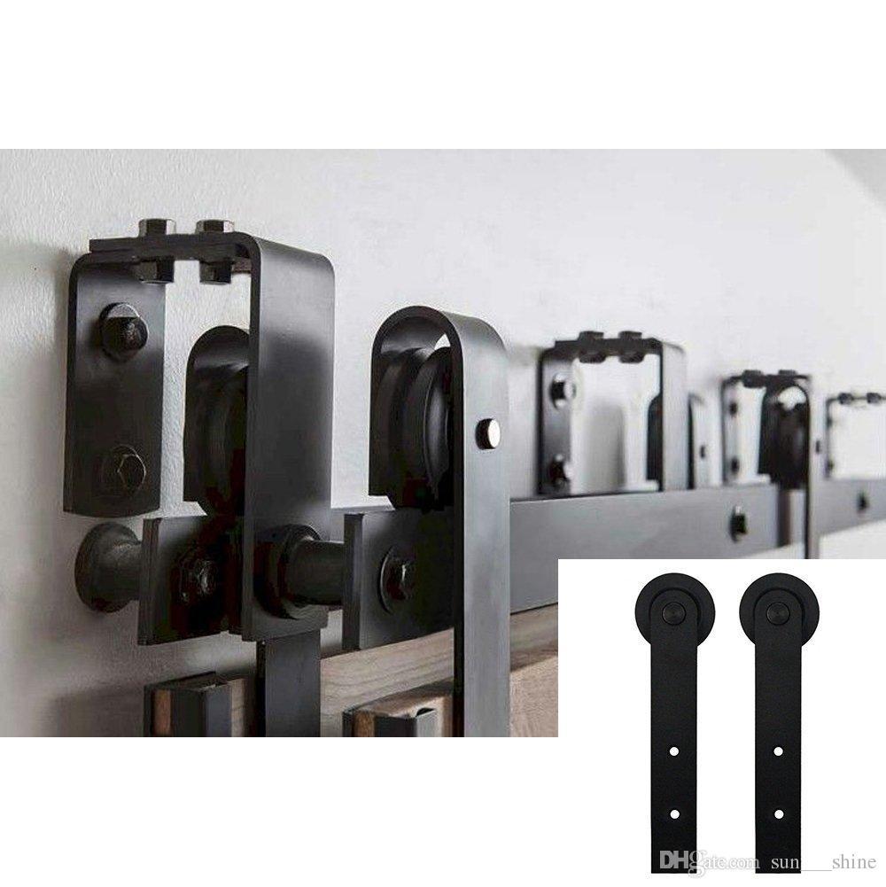 Großhandel 5f16ft New Style Bypass Barn Door Hardware Für Indoor ...