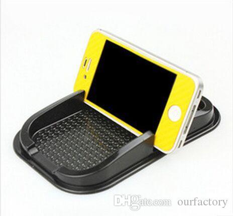 Universal car Anti Slip pad Rubber Mobile Sticky stick Dashboard Phone Shelf Antislip Mat For Phone GPS MP3