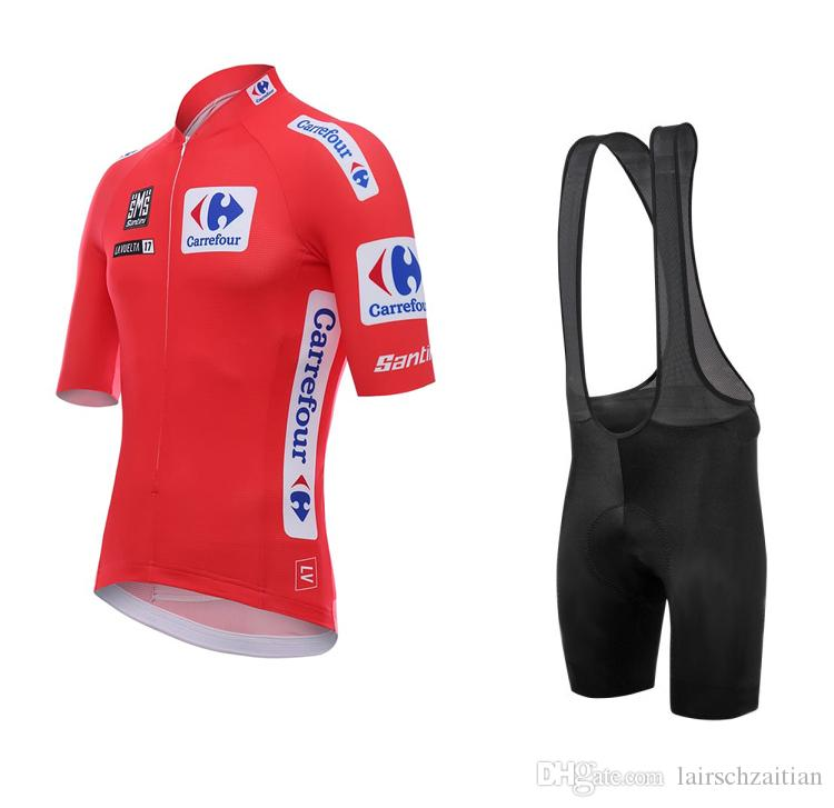 2017 Tour of Spain 2015 Cycling Clothing Summer Quick-Dry Cycling ... 9bebb1e66