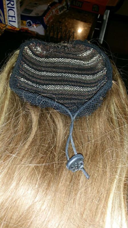 Rete capelli fare Coda di cavallo con cinturino regolabile sul retro tessitura cap parrucca glueless caps di buona qualità Hair Net