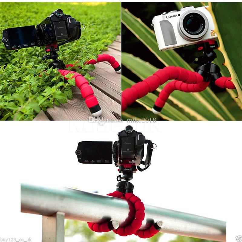 Hot Sale Car Phone Holder Flexible Octopus Tripod Bracket Selfie Stand Mount Monopod Styling Accessories For Mobile smart Phone