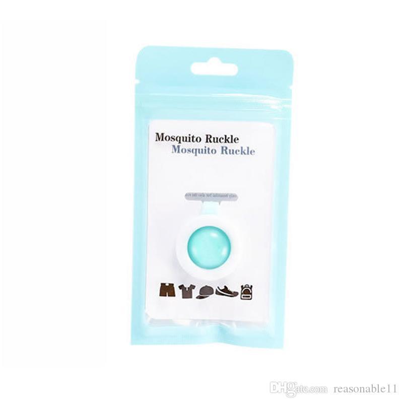Pulsante anti-zanzara animale sveglio del fumetto repellente della zanzara clip Baby Buckle non tossico repellente della zanzara Fibbia Pest Control misto