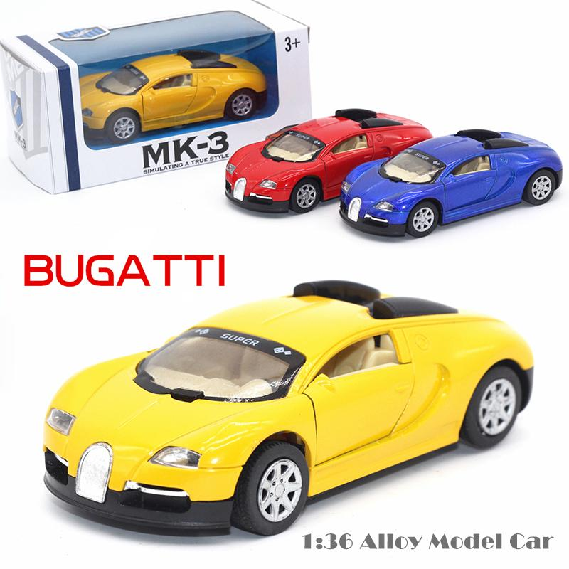 2017 136 bugatti veyron diecasts alloy car model boy toy car hot wheels cars kids toys for children machines toys for boys bvyellow from love6love