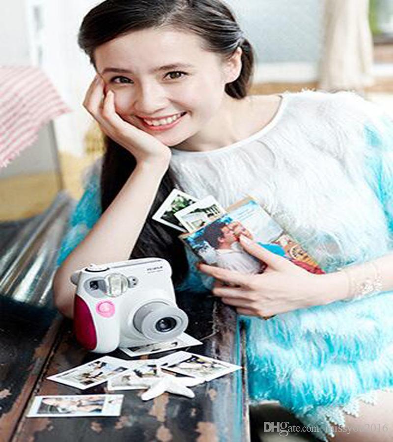 أزياء لكاميرا فوجي ميني 7S ذات الاستخدام الواحد كاميرا فوجي فيلم Instax ميني 7S الفورية صور الكاميرا حرية الملاحة
