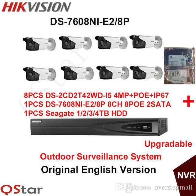 Hikvision Original English Outdoor Surveillance System DS ...