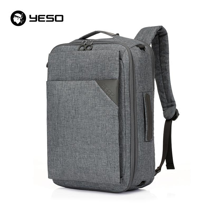 Multifunctional Laptop Backpack 14 15.6 Inch 3 In 1 Business ...
