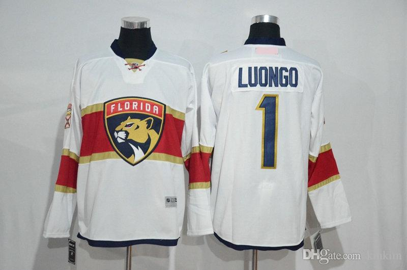 New Product Mighty Florida Panthers  68 Jaromir Jagr  1 Roberto Luongo  16  Aleksander Barkov  5 Aaron Ekblad 2017 Ice Hockey Jerseys Wholesale Hockey  ... e17e98972