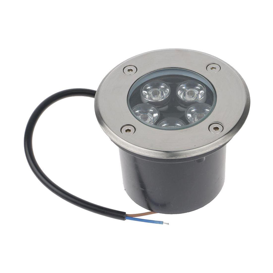 5w Spot De À Extérieur Gros Lampe Sol Luminaire Led Éclairage Vente En Jardin Encastrer Léger Blanc PkXOZiuT