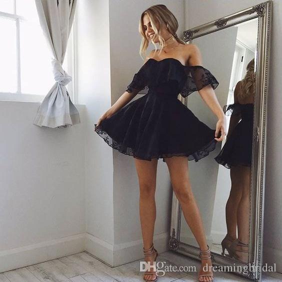 Homecoming Kleider Cocktailkleider 2017 Sexy Trägerlosen Party Kleider Short Prom Kleider Nach Maß Plus Größe