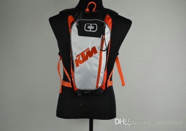 yeni stil çanta Seyahat çantaları Bisiklet paketi kask paketleri yarış paketi ücretsiz nakliye motosiklet Motokros KTM Hidrasyon BB-KTM-06
