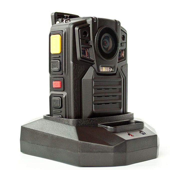 نظام تحديد المواقع 1080P WV8 جسم الكاميرا البالية Ambarella A7L50 مجموعة شرائح الأشعة تحت الحمراء للرؤية الليلية 8 ساعات بطارية قابلة للإزالة وظيفة PPT الكاميرا BWC