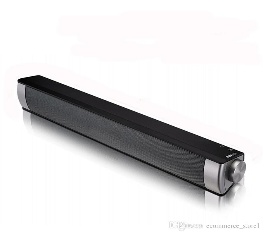 db344b5a7ff 2019 10W LP08 Bluetooth Wireless Speaker Soundbars Handsfree Talk HIFI Box  Subwoofers Boombox Stereo Portable Sound Bar For TV PC Laptop From ...