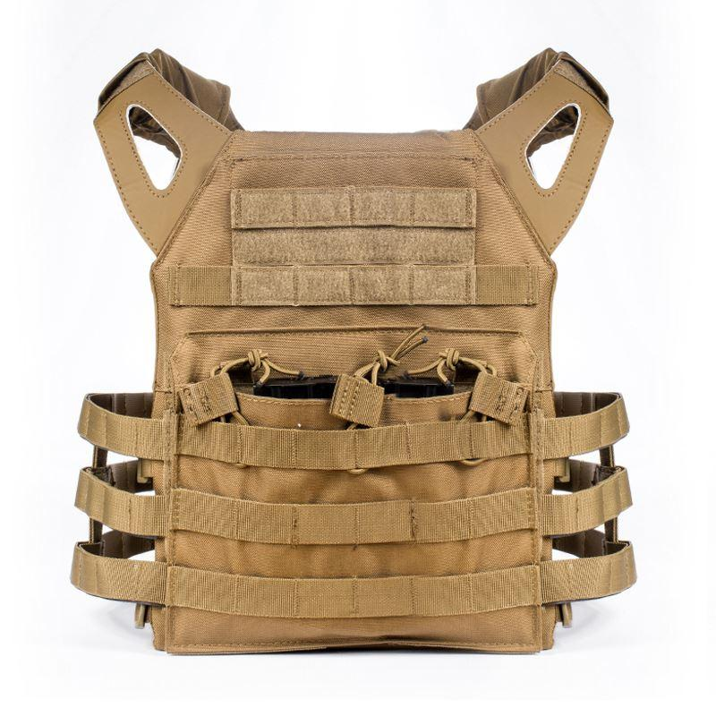 Chaleco táctico Caza Ammo Chest Rig JPC Chaleco Gear Body Armor Multifunción Tactical Gear 4 Color Men CS Chaquetas Ropa