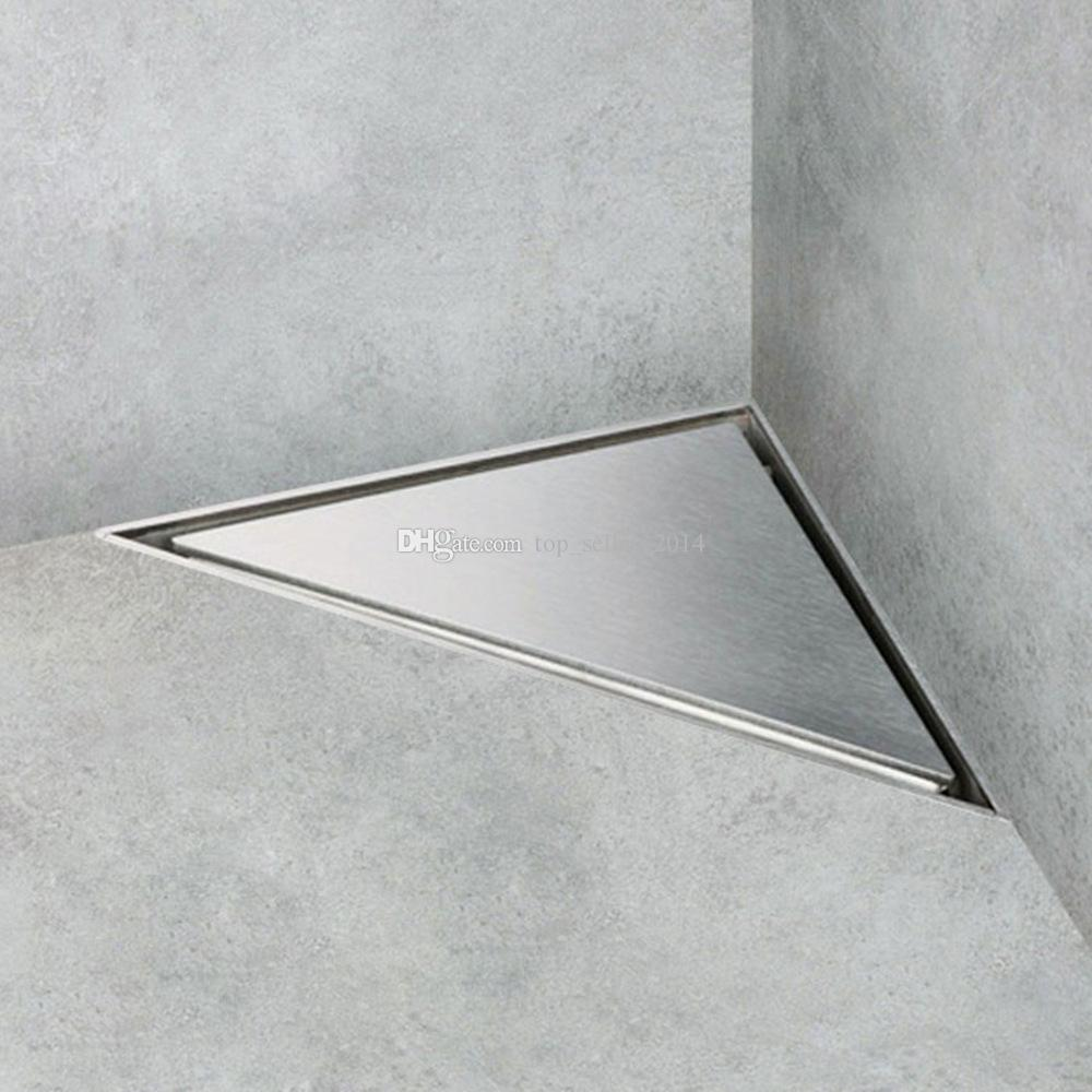 2019 Triangle Tile In Floor Drain Stainless Steel