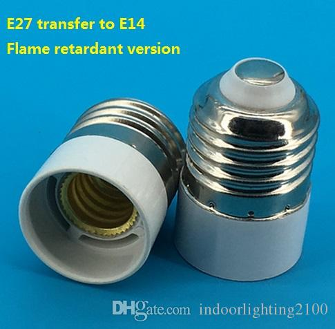 オプションの3卸売110V / 220VスクリューE27 / E14 / B22変換ランプホルダー/ベース/ソケットデバイス照明アクセサリースペアパーツ