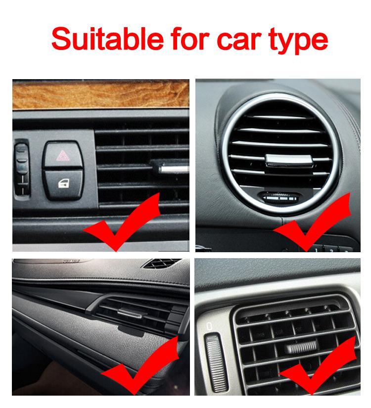 Car Mount Universal Dashboard Phone Holder Outlet Bracket Telefon komórkowy Support dla GPS