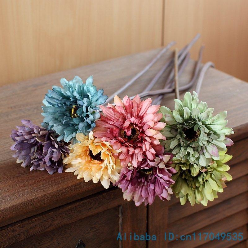 2018 single stem silk flower artificial african daisy chrysanthemum 2018 single stem silk flower artificial african daisy chrysanthemum home decoration f27 from jerry80888 113 dhgate mightylinksfo