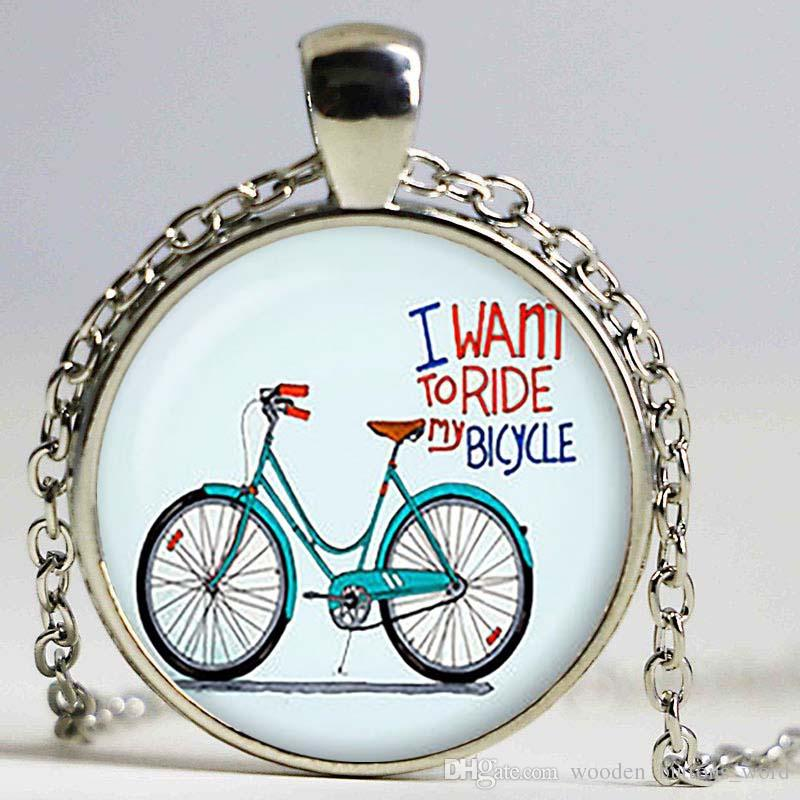 Wholesale retro bicycle pendant vintage bicycle necklace bicycle wholesale retro bicycle pendant vintage bicycle necklace bicycle jewelry birthday gift christmas giftsliver plated silver heart pendant necklace black aloadofball Gallery