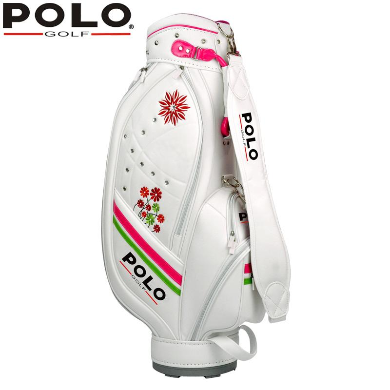 68a2f2a44f13 Wholesale- Brand POLO Sports Golf Ball Bag High Quality Lady Women ...