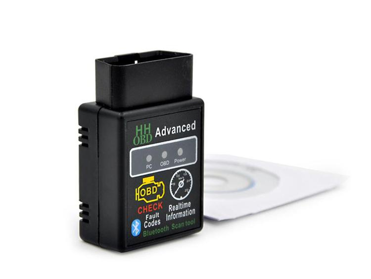 Mini OBD2 Interface Scanner Mini ELM327 Torque Android Bluetooth OBDII CAN BUS Engine HH 327 Bluetooth Auto Scanner ECU Spectrum Code Reader