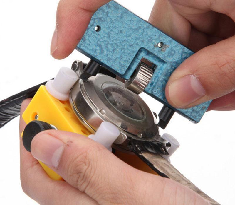 Rolex ремонт инструмента Горячий Новый Arrvial топ прочный часовщик Mans часы ремонт инструмента задняя крышка держатель регулируемая открывалка Remover инструмент