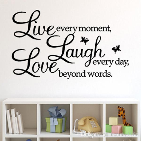 vinyl lettering quote wall decals home decor sticker mordern art