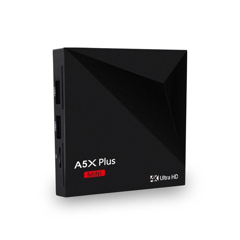 A5X PLUS Android 9.0 TV Box Smart tvbox Quad Core RK3328 MINI 2G 16G USB 3.0 Media Player HD Wifi 4K TV Set Top Box