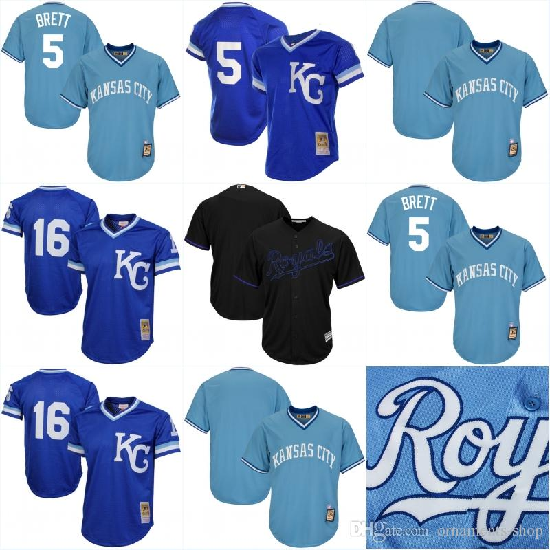 reputable site b3b22 07989 kansas city royals 5 george brett 1989 white throwback jersey