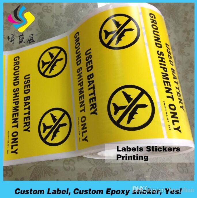 2018 Custom Waterproof Adhesive Transparent Stickers Clear Packaging Label  From Boyizhan, $0.04 | Dhgate.Com