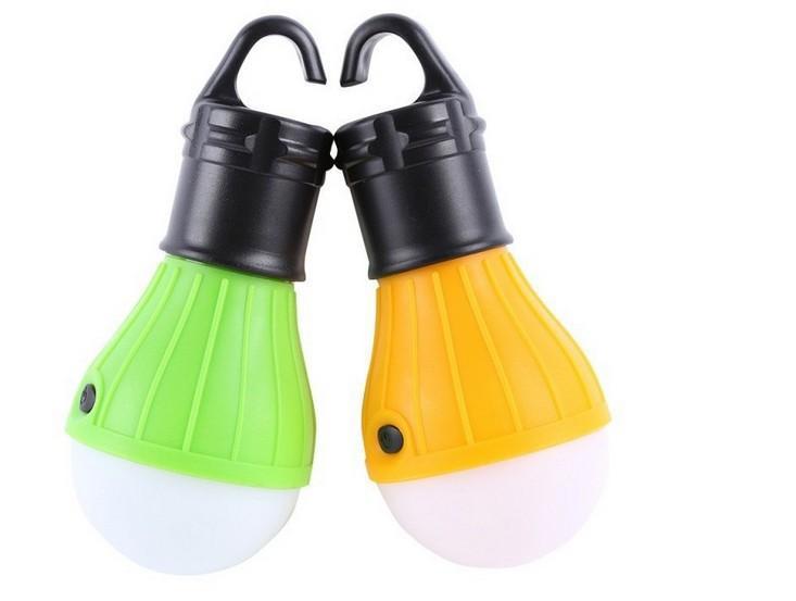 Mini tenda portatile della luce LED tenda da campeggio luce esterna della lampada di notte della lampada escursionismo Lanterna con Paking al dettaglio