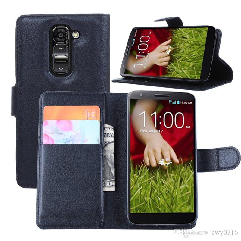 For LG G2 Mini Case Cover Leather PU Flip Wallet Phone Cases For LG G2 Mini  D620 D618 With Stand Card Slot