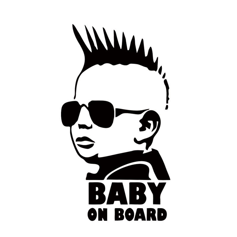 2018 new design baby on board funny car sticker personality warning decal decorative jdm from langru1003 1 31 dhgate com