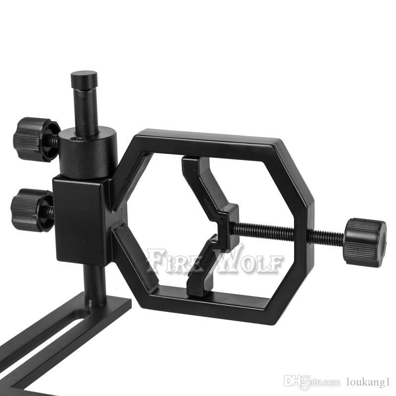 FEU WOLF Universel Appareil photo Support de support de téléphone portable Support Monture Longues-vues Télescope U 54-90mm Adaptateur Multifonction