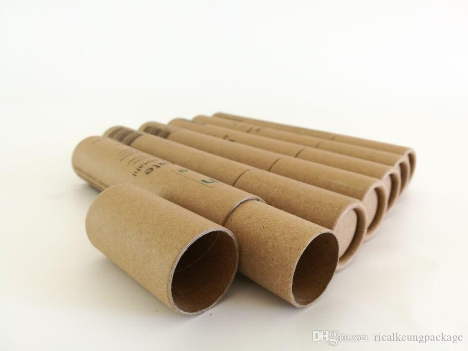 Papierkartonzylinder mit Lebensmittelqualität Papierschlauch mit Folie