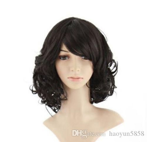 1a917ff2238 Heat Resistant Wig Curly Wavy Synthetic Cosplay Party Full Wigs Synthetic  Hair Wigs Women s Synthetic Hair Fashion Online with  25.58 Piece on  Haoyun5858 s ...