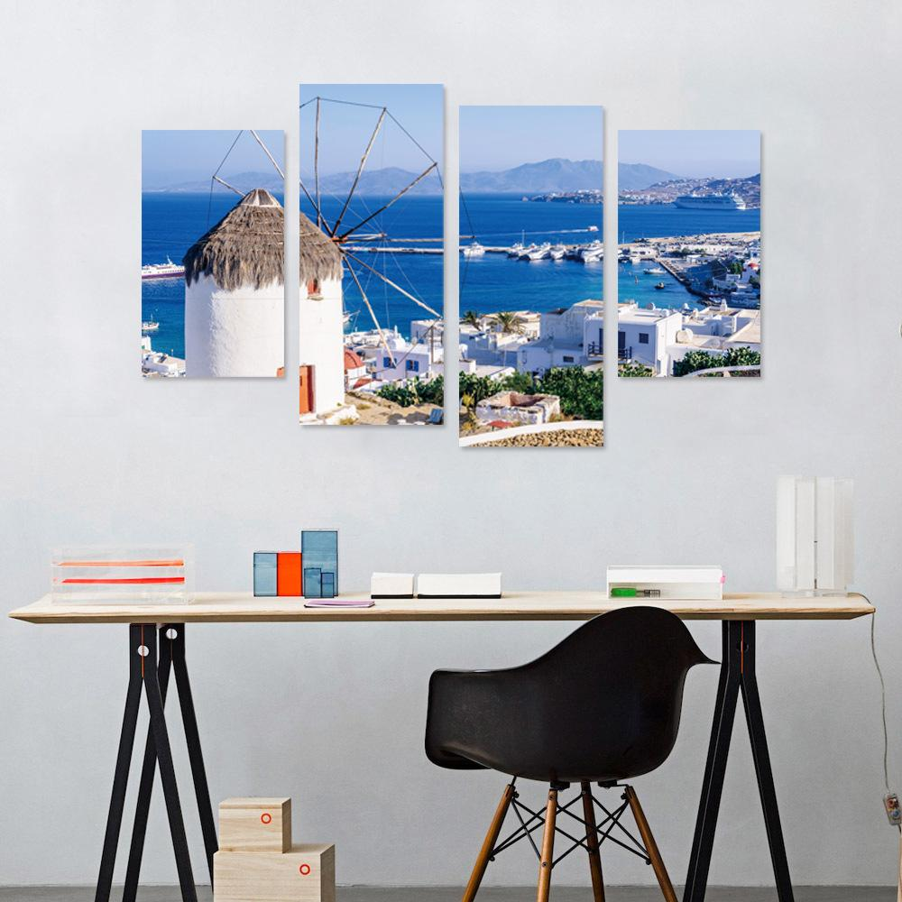 Creative New Landscape Series 3d Stereoscopic Creative Wall Stickers ...