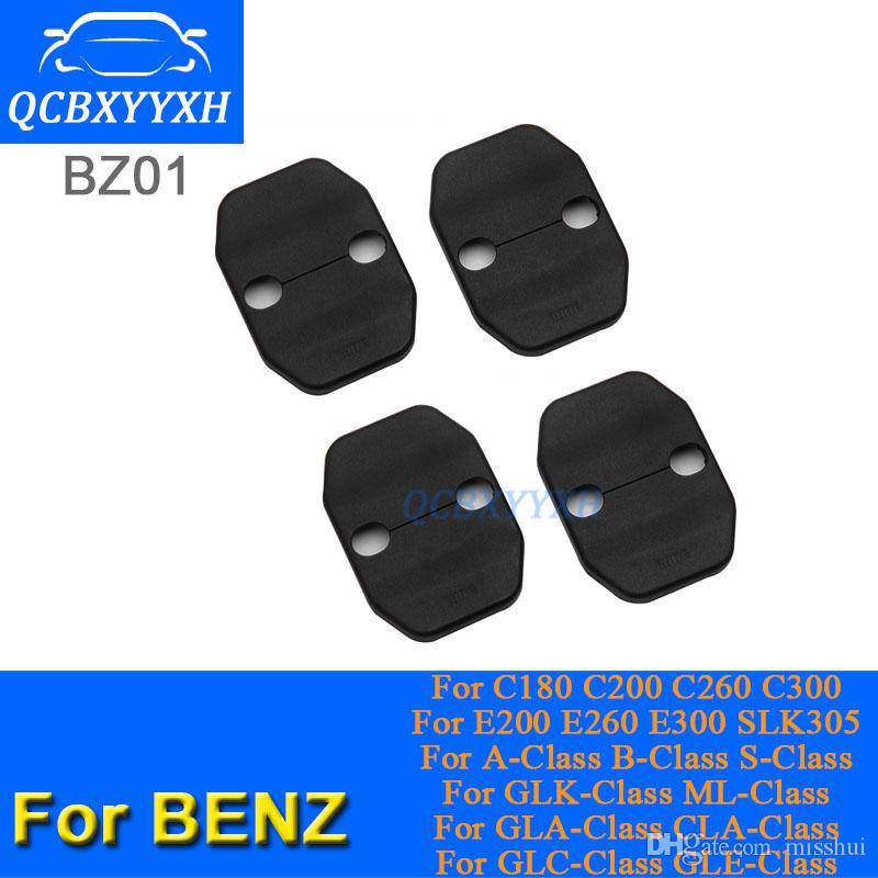 메르세데스 벤츠 C180 C200 C260 GLC 클래스 ML E200 GLK 클래스 GLA 클래스 CLA 클래스 / ABS 자동차 도어 잠금 보호 커버