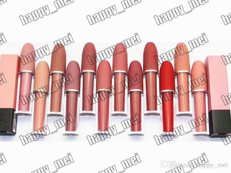 Direto da fábrica DHL Frete Grátis Nova Maquiagem Lábios 4.5g M6873 Lustre Lip Gloss! 12 Cores Diferentes