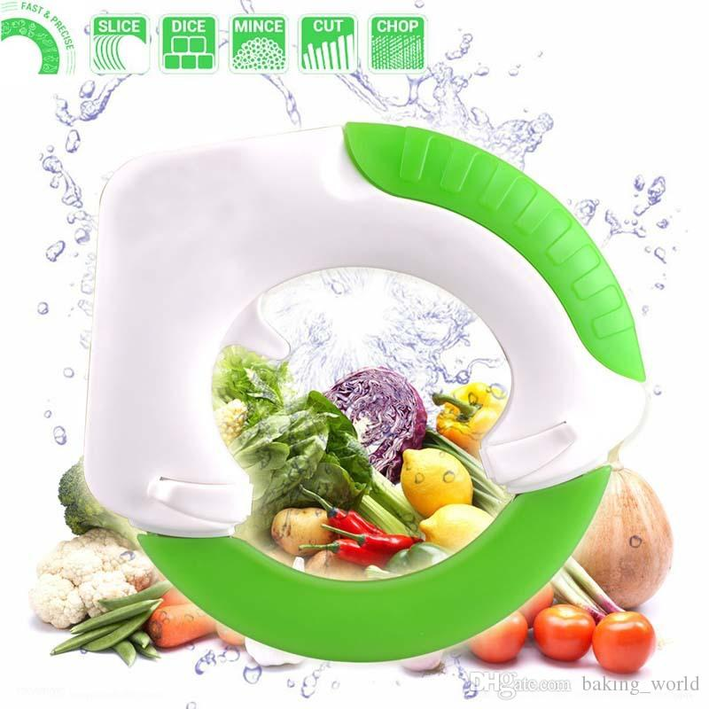 Circular knife Round Shape Wheel Rolling Kitchen Tool With Stainless Steel Blade Vegetable Meat Cake Pizza Cutter Creative Kitchen Supplies