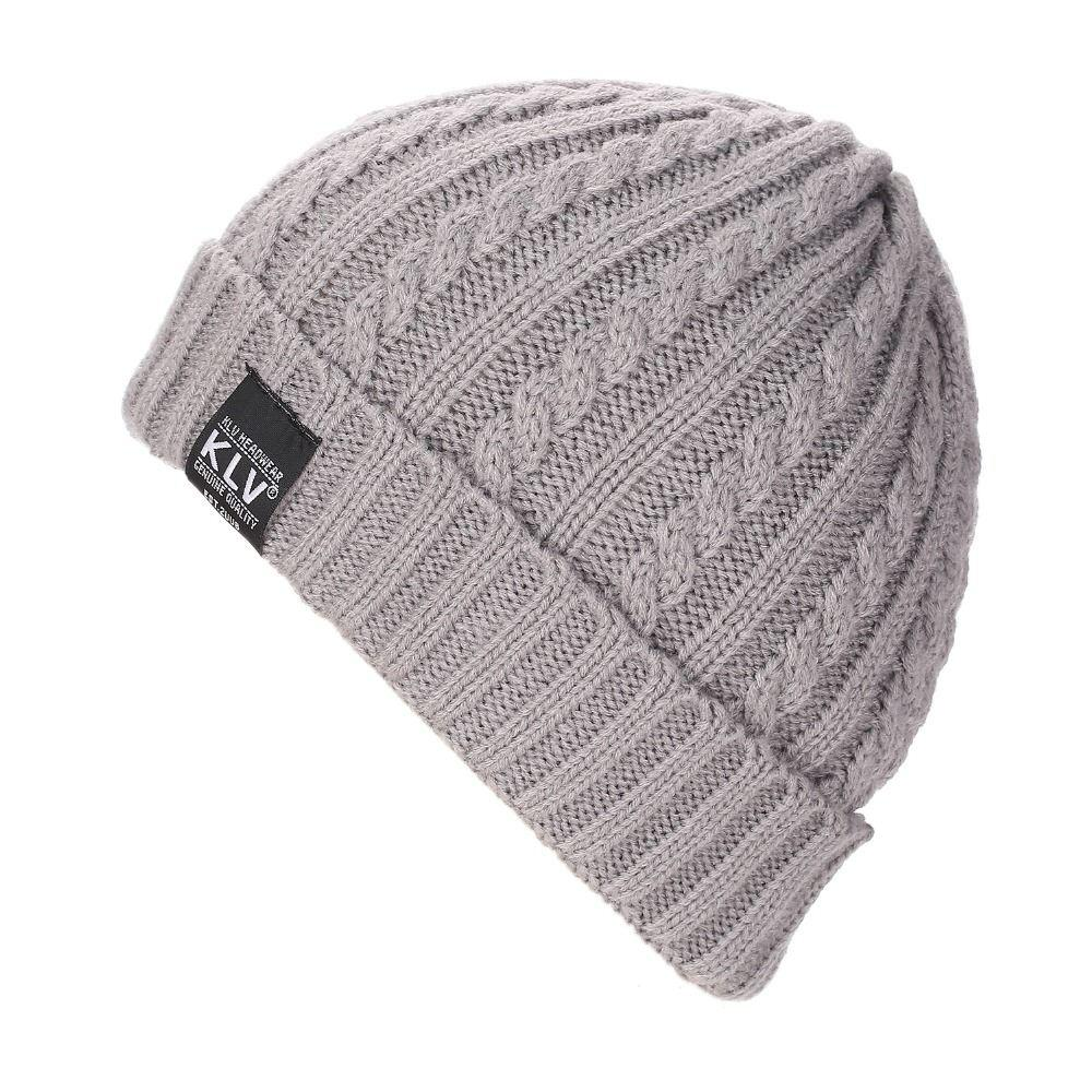 New Brand KLV Beanies Knitted Winter Caps Skullies Winter Hats For Men  Women Ski Sports Beanie Gorras Touca High Quality Winter Hats China Brand Winter  Hats ... 126d5e74b0a