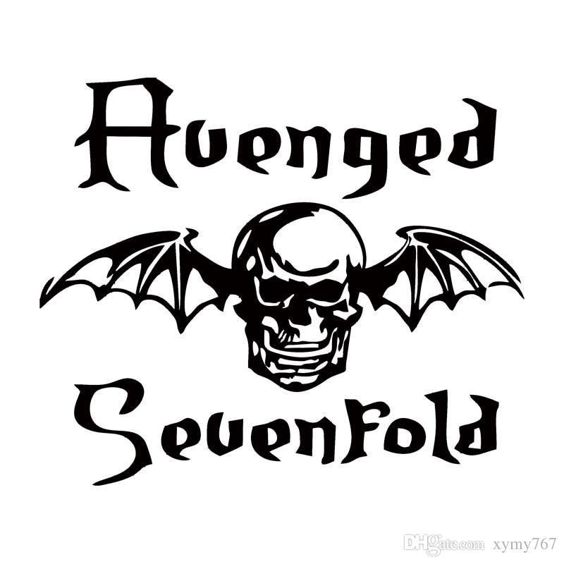 2018 hot sale for avenged sevenfold death bat car styling decal vinyl sticker jdm band car window accessories graphics from xymy767 1 21 dhgate com