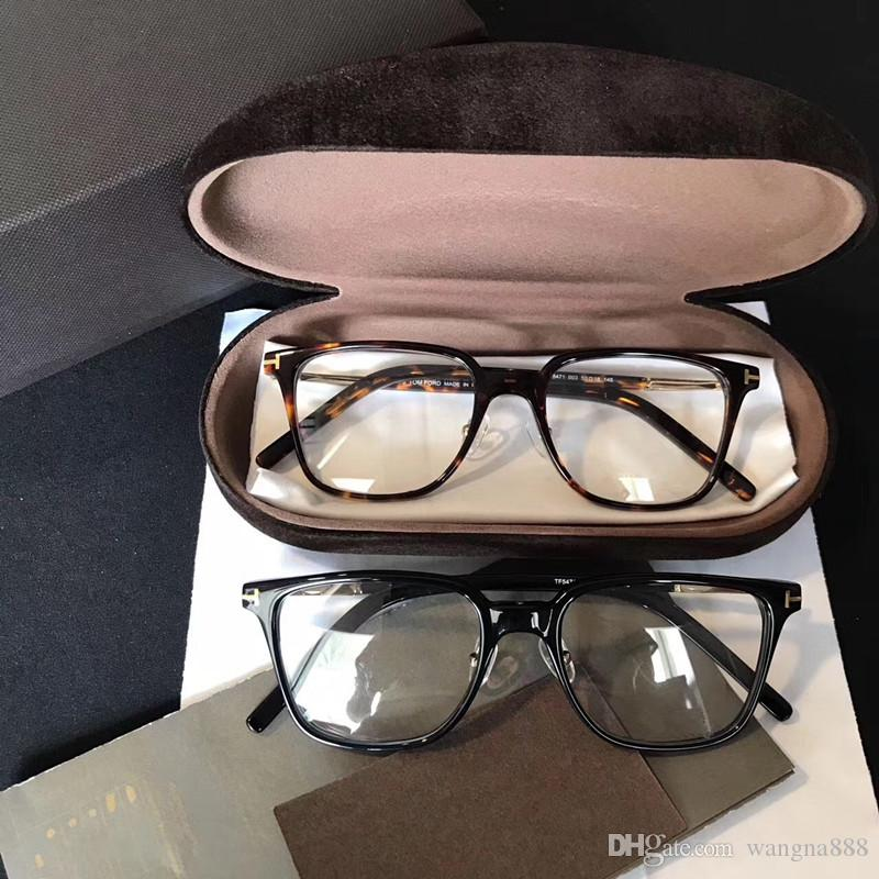 5471 Moda de Lujo Gafas Forma Cuadrada Retro Vintage Hombres Mujeres Diseñador Con Paquete Original Marco Completo Gafas Modelo Wayferer