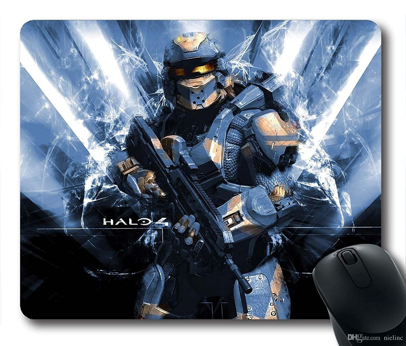 gaming mouse pad halo personalized mousepads natural eco rubber